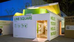 Naver Line Square