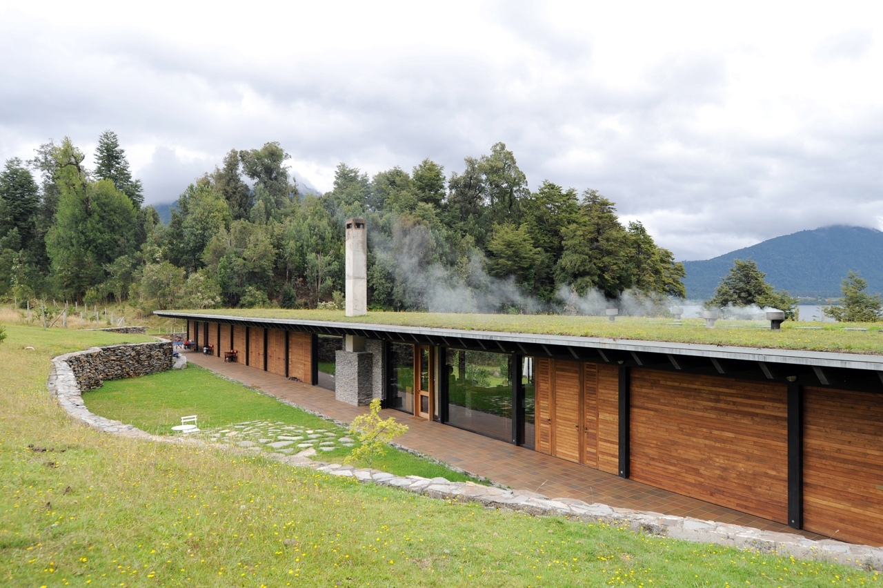House at lake Rupanco