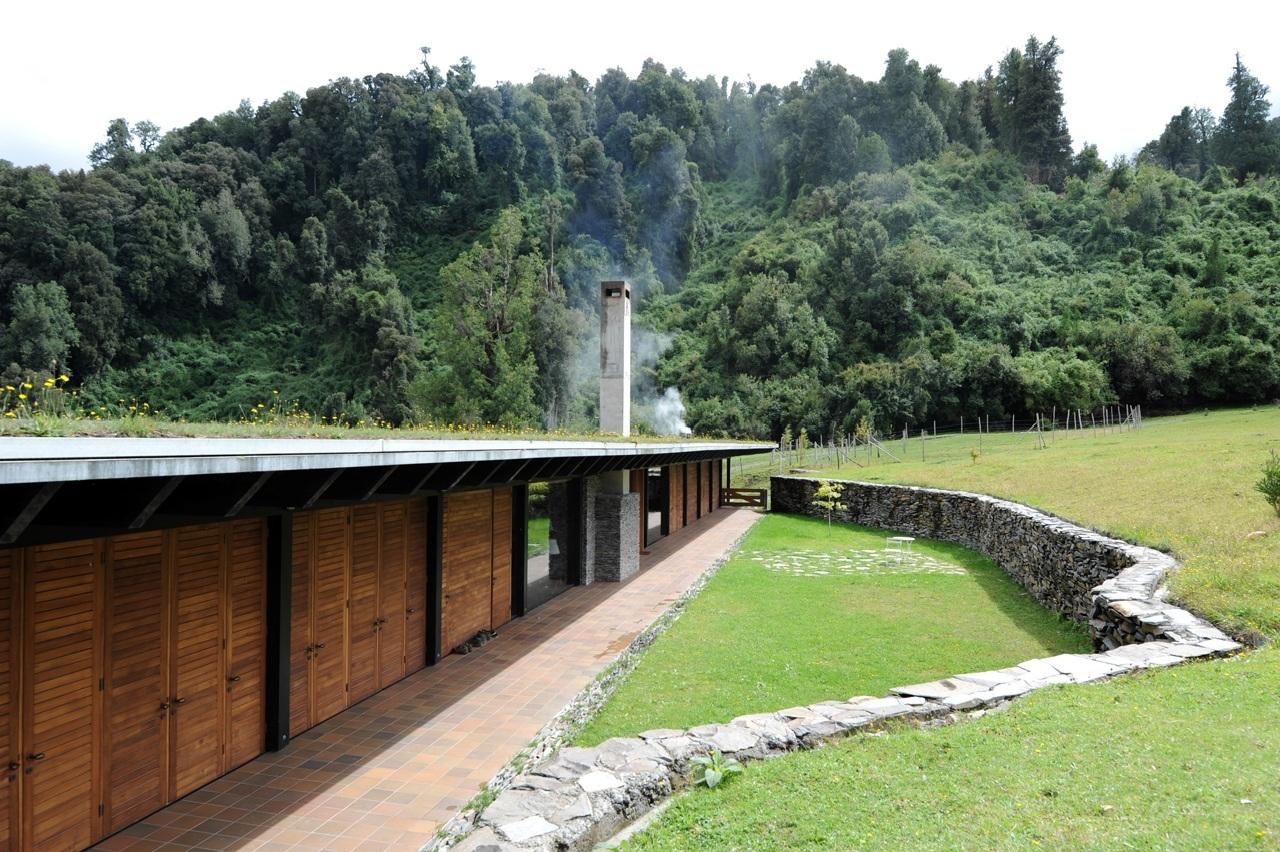 House at lake Rupanco