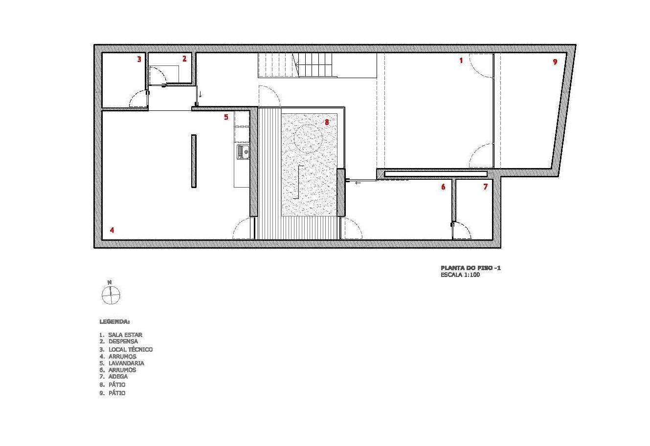Gallery of dj house i da arquitectos 26 for House plans under 200 000