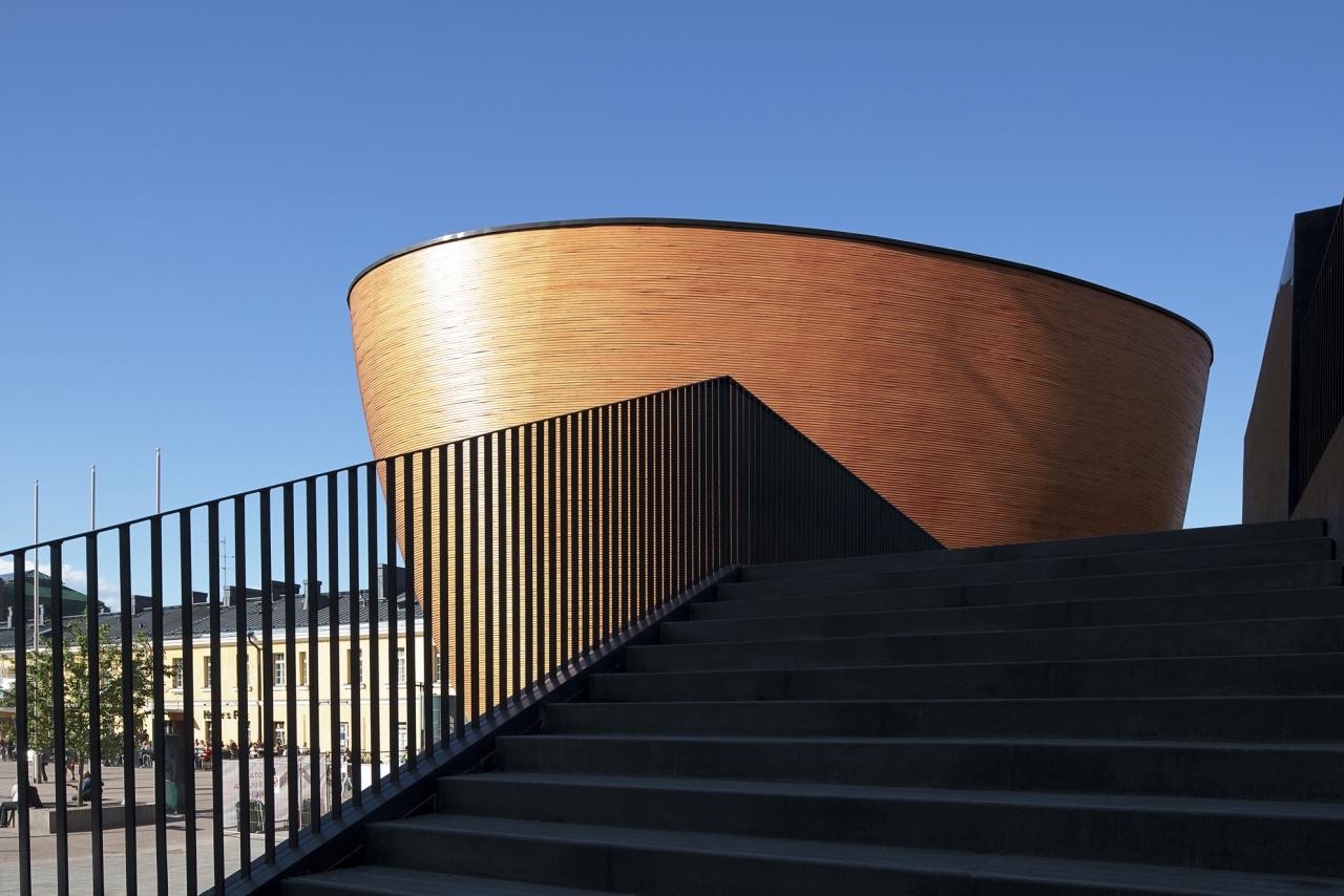 Kamppi Chapel / K2S Architects, © Tuomas Uusheimo