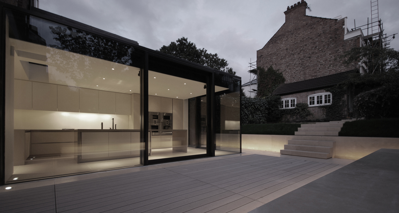 Gallery of Rear House Extension Garden Design LBMV Architects