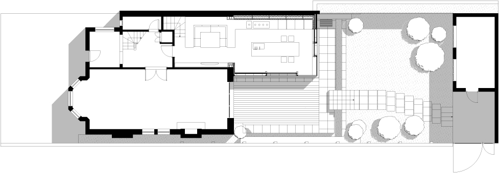 Stringio 1414614220 Gallery Of Rear House Extension Garden Design Lbmv Architects On How To