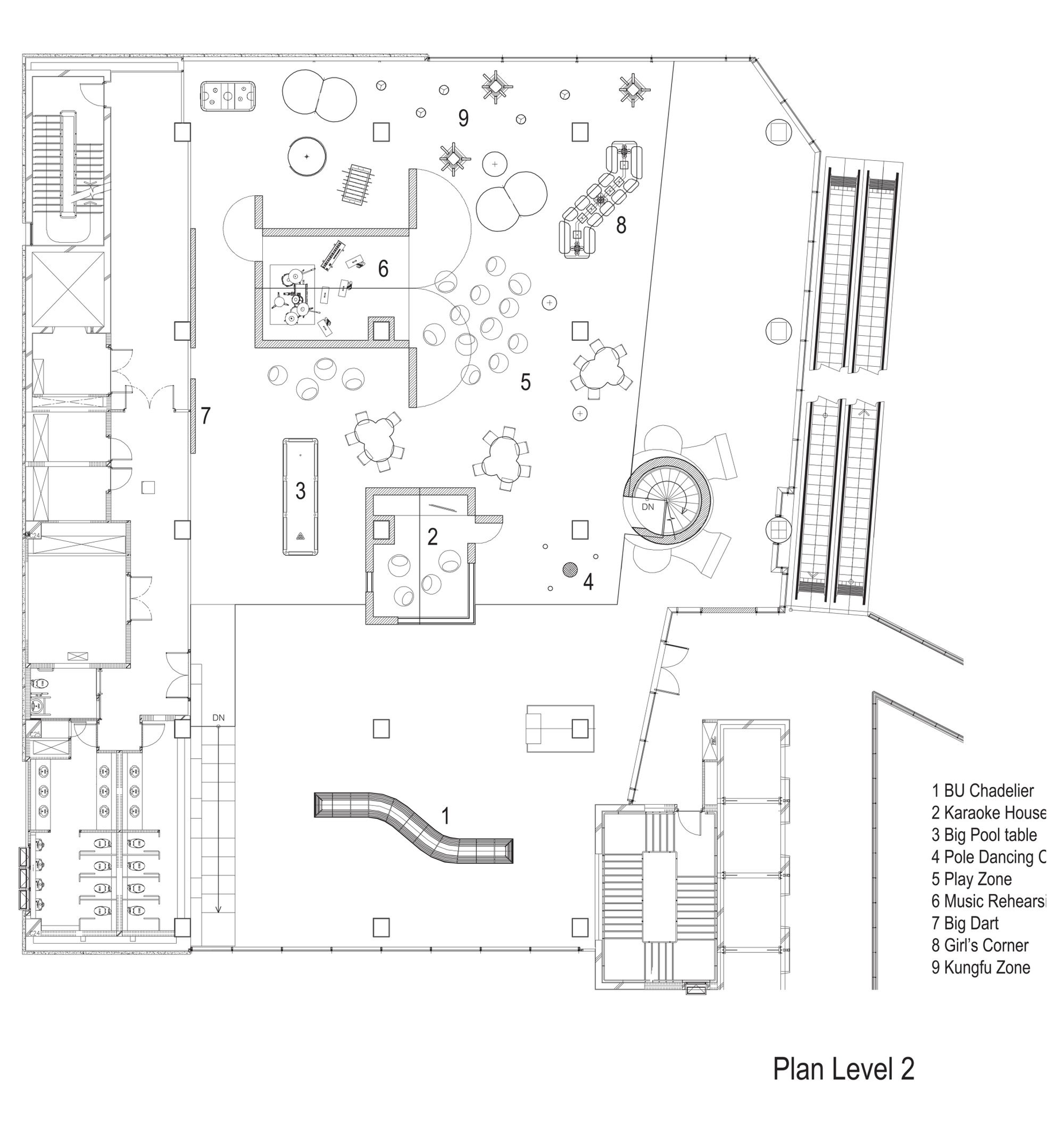 Gallery of bu lounge supermachine studio 24 for Lounge layout planner