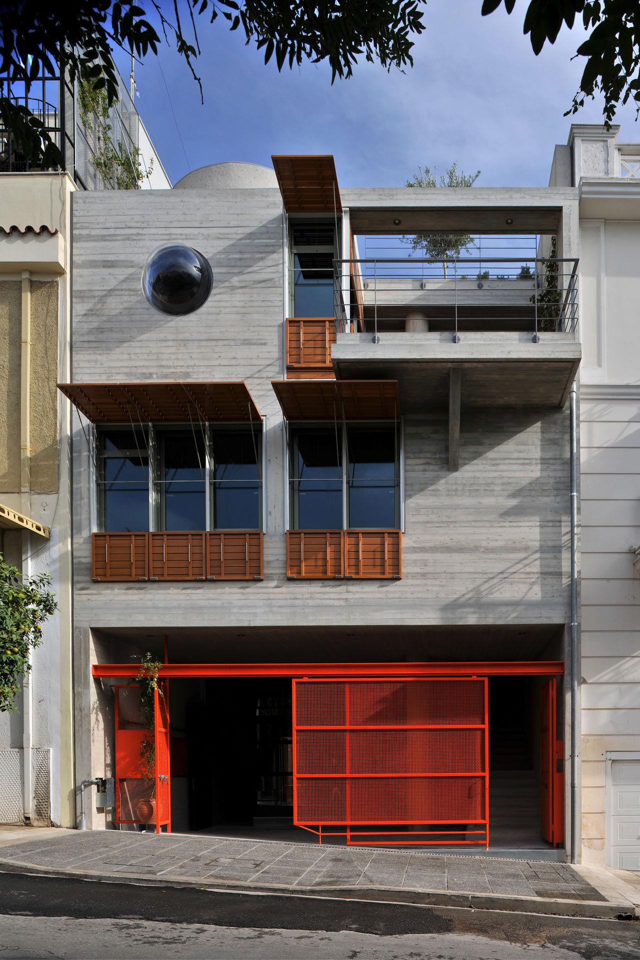 Gallery Of The House Box In Koukaki Sofia Tsiraki 1