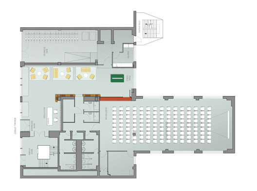 Stringio 1414031845 Google Campus Jump Studios Archdaily On Google Office Floor Plan Layout