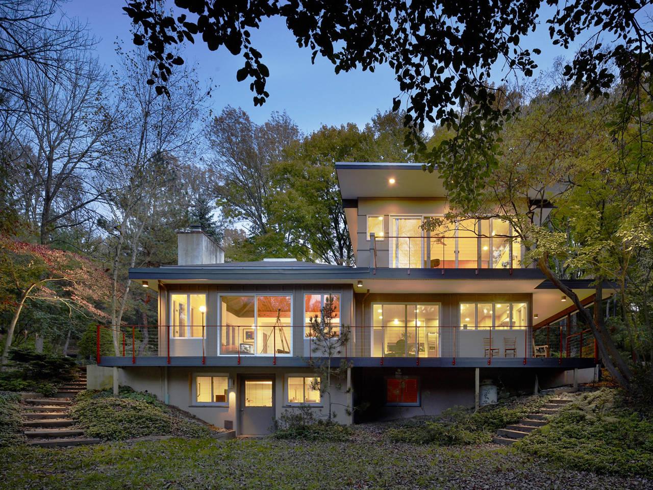 ^ Seidenberg House / Metcalfe rchitecture & Design rchDaily