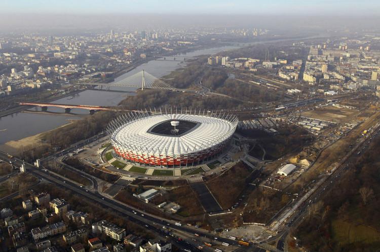 Warsaw National Stadium Gmp Architekten Archdaily