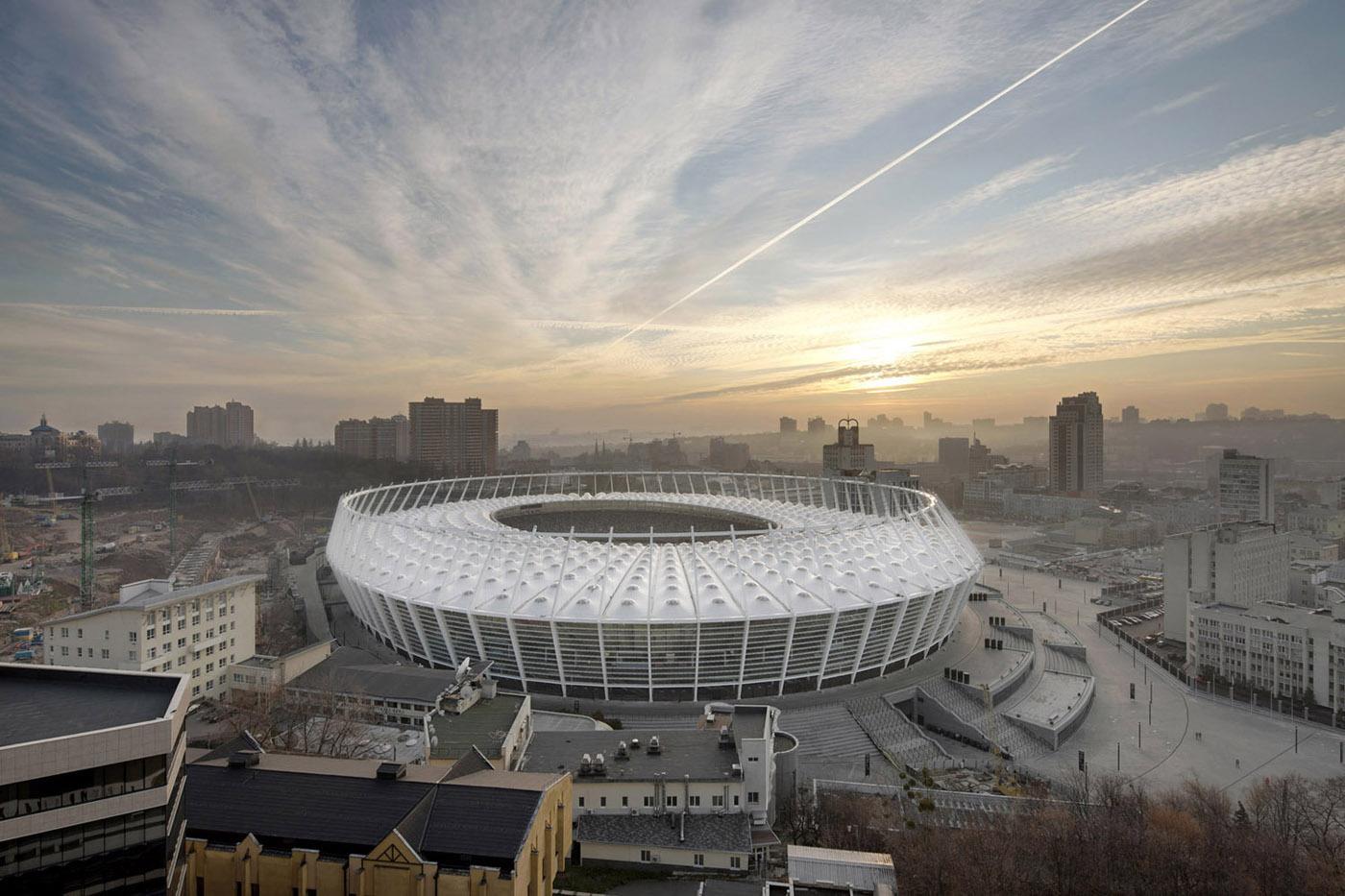 Kiev Olympic Stadium / gmp Architekten, © Marcus Bredt