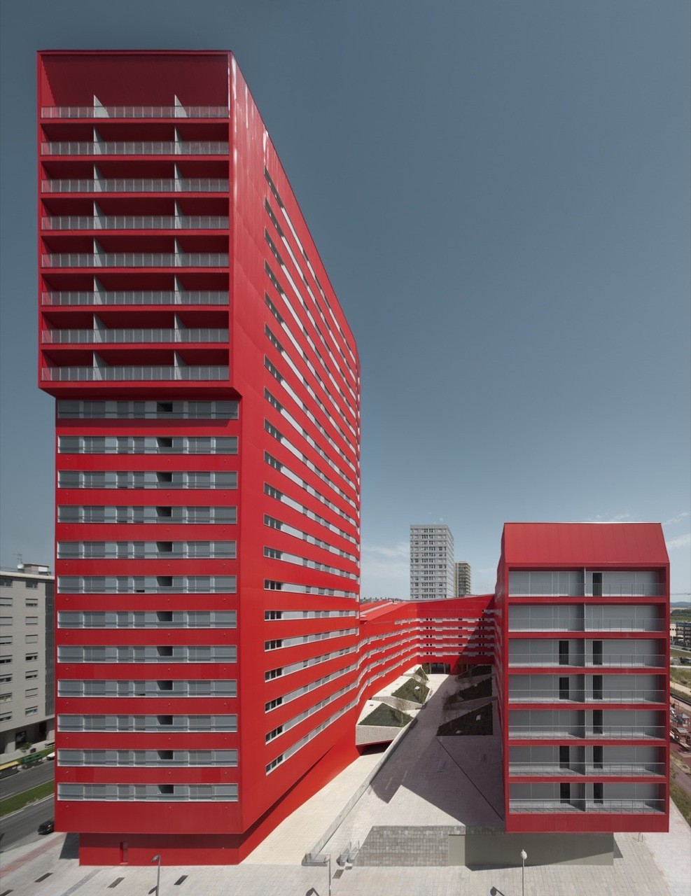 242 Social Housing Units in Salburúa / ACXT, © Aitor Ortiz