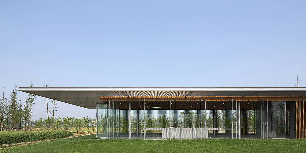 Harvest Pavilion / Vector Architects, © Shu He Photo