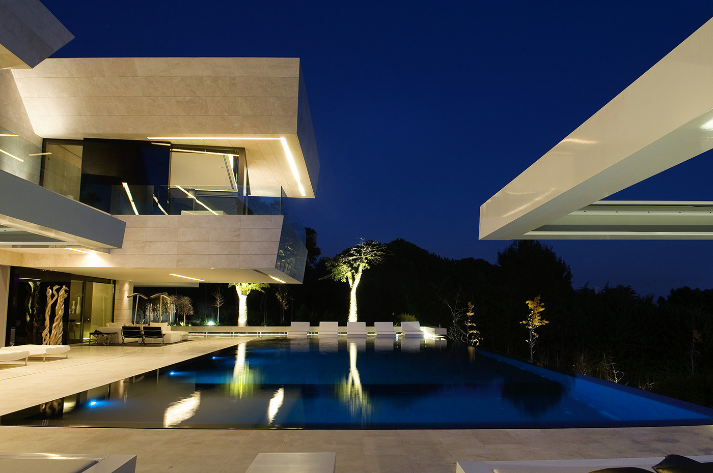 Single Family Property in Marbella / A-cero, © Jacobo España (Negami)