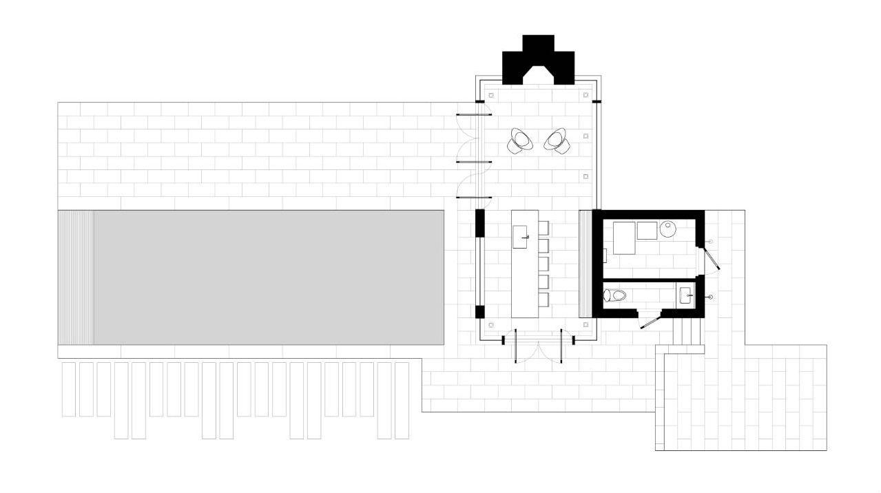 Gallery of nevis pool and garden pavilion robert m - Pavillon residentiel moderne gurney architecte ...