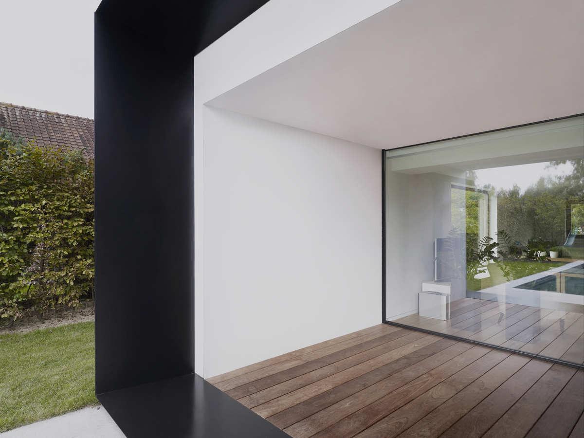 gallery of house ds graux baeyens architecten 7. Black Bedroom Furniture Sets. Home Design Ideas