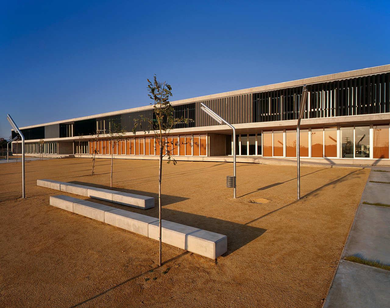 San Juan de Alicante Secondary School / Orts-Trullenque, © Diego Opazo