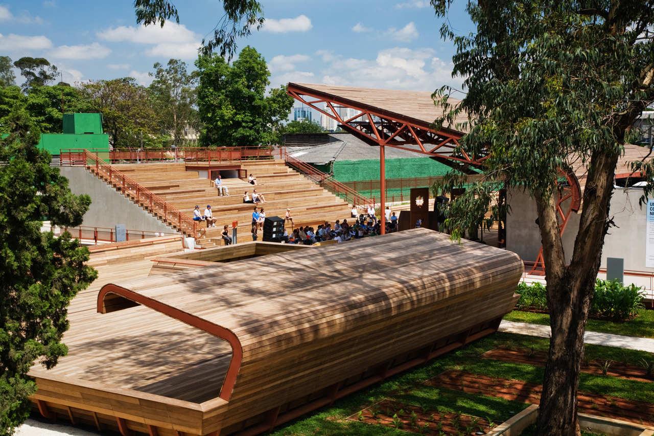 Victor Civita Plaza / Levisky Arquitetos Associados, © Nelson Kon