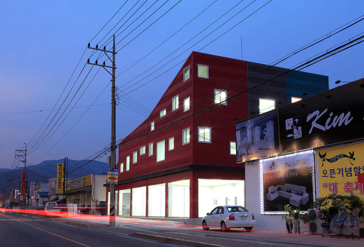 The 243 Building / Hyun and Jeon Architectural Office