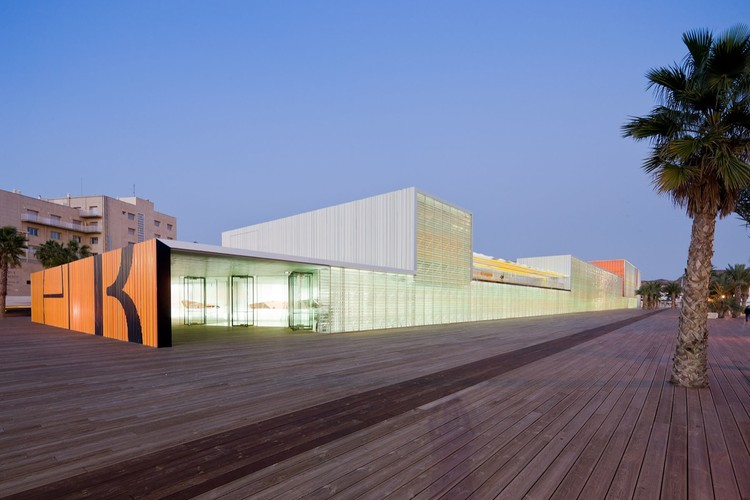Auditorium in Cartagena / Selgas Cano, ©  Iwan Baan