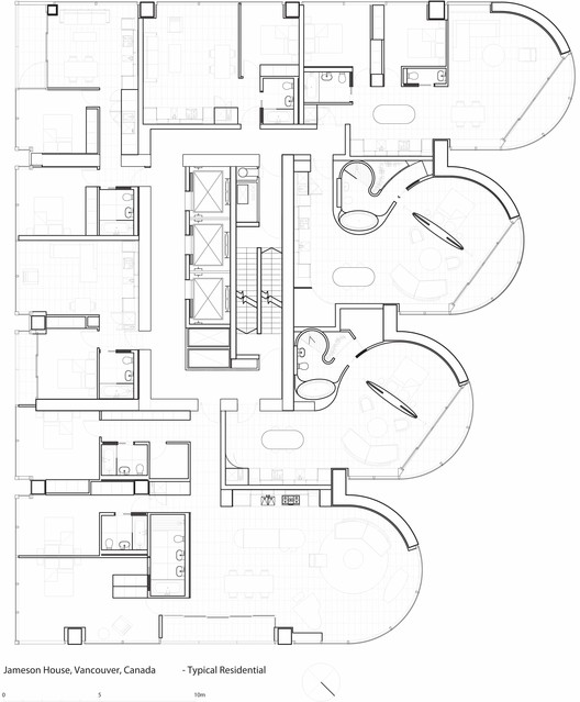 typical residential plan