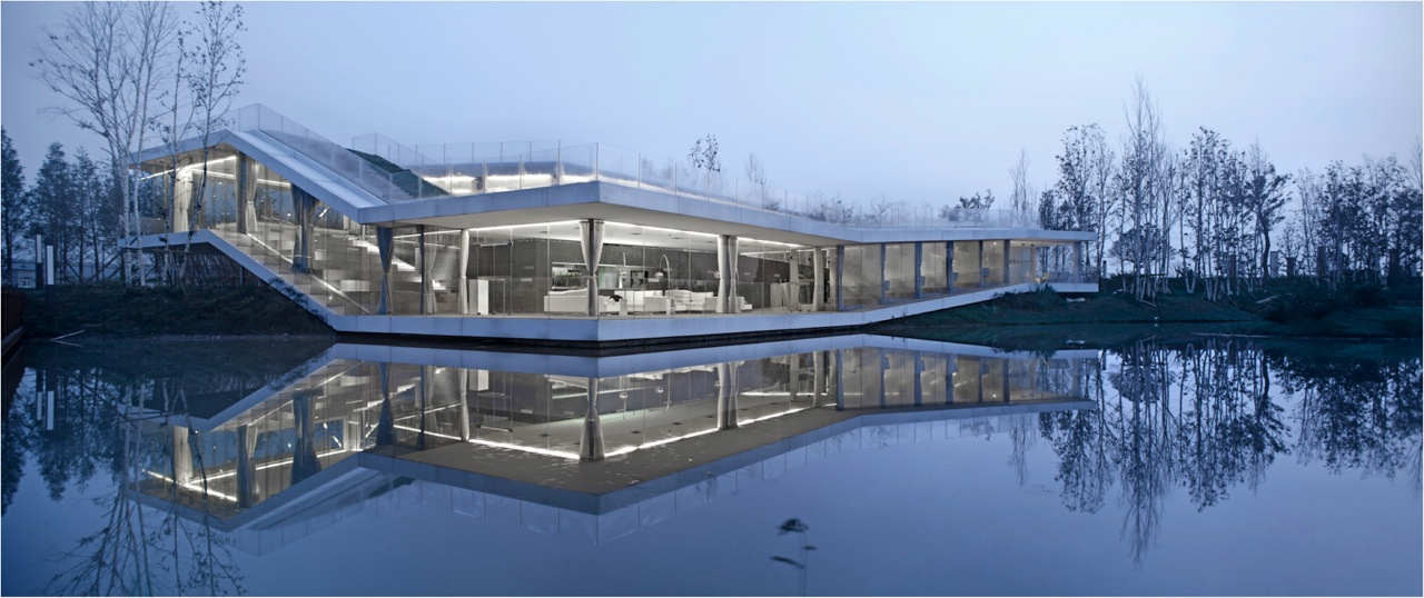 Riverside Clubhouse / TAO - Trace Architecture Office, © Yao Li