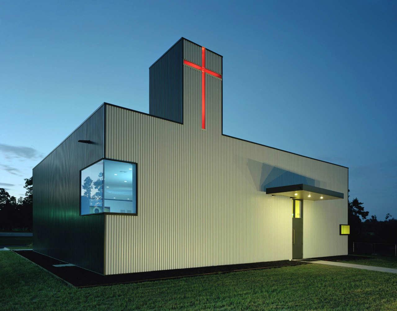 St Nicholas Church / Marlon Blackwell Architect, Courtesy of Marlon Blackwell Architect