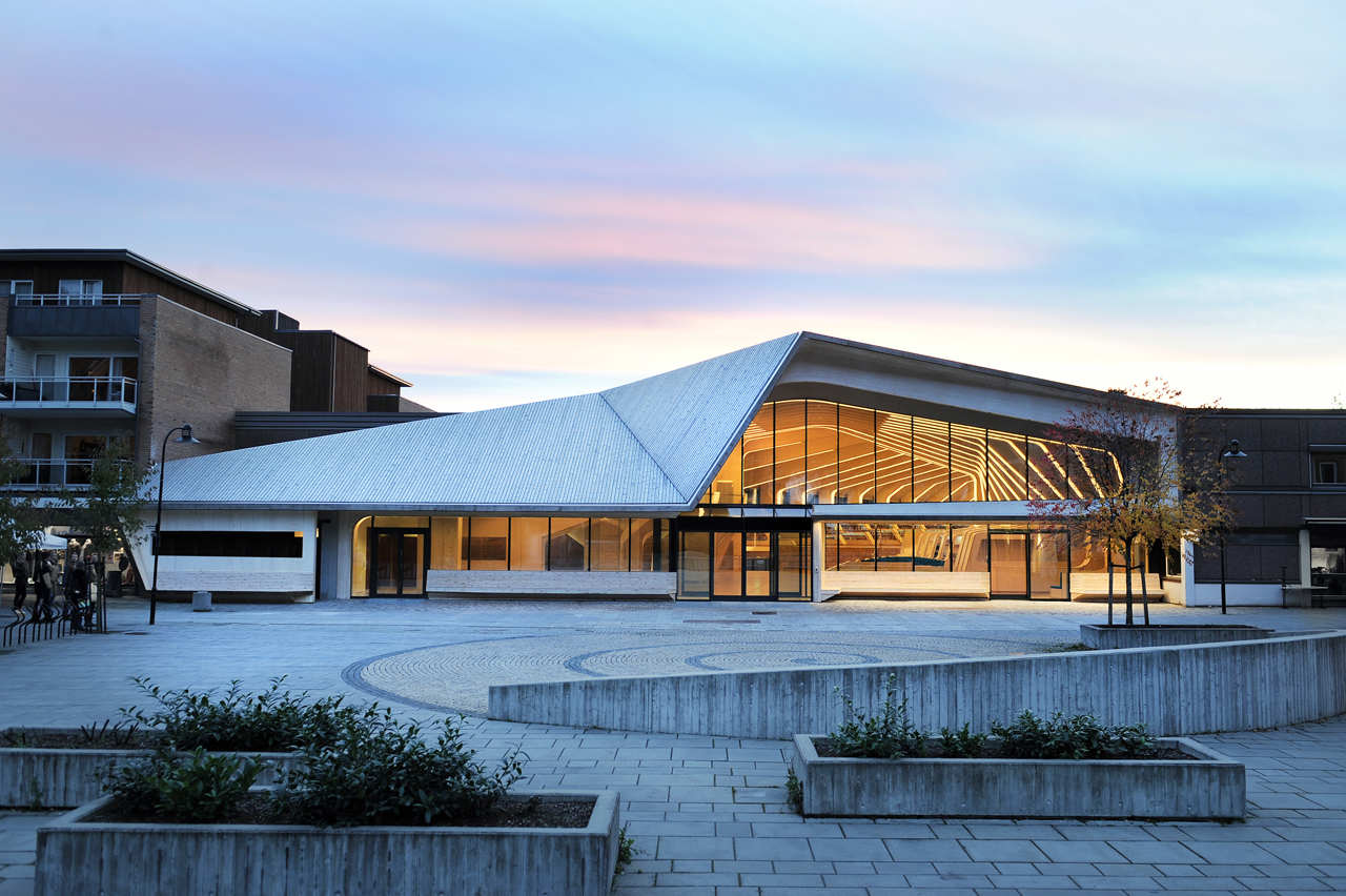 Vennesla Library and Culture House / Helen & Hard, © Emile Ashley