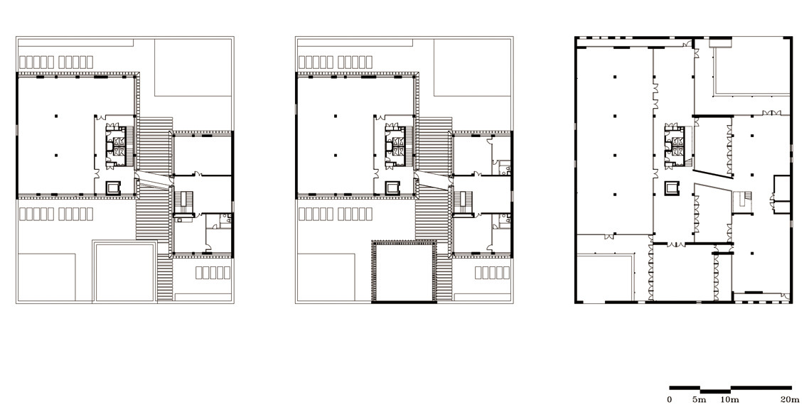 Gallery of plot 6 tea house in jiangsu software park for Japanese tea house floor plans