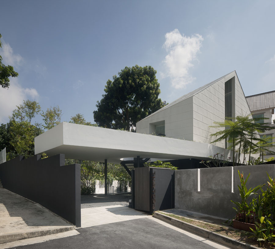 Park Boundary Wall Design : Gallery of the park house formwerkz architects