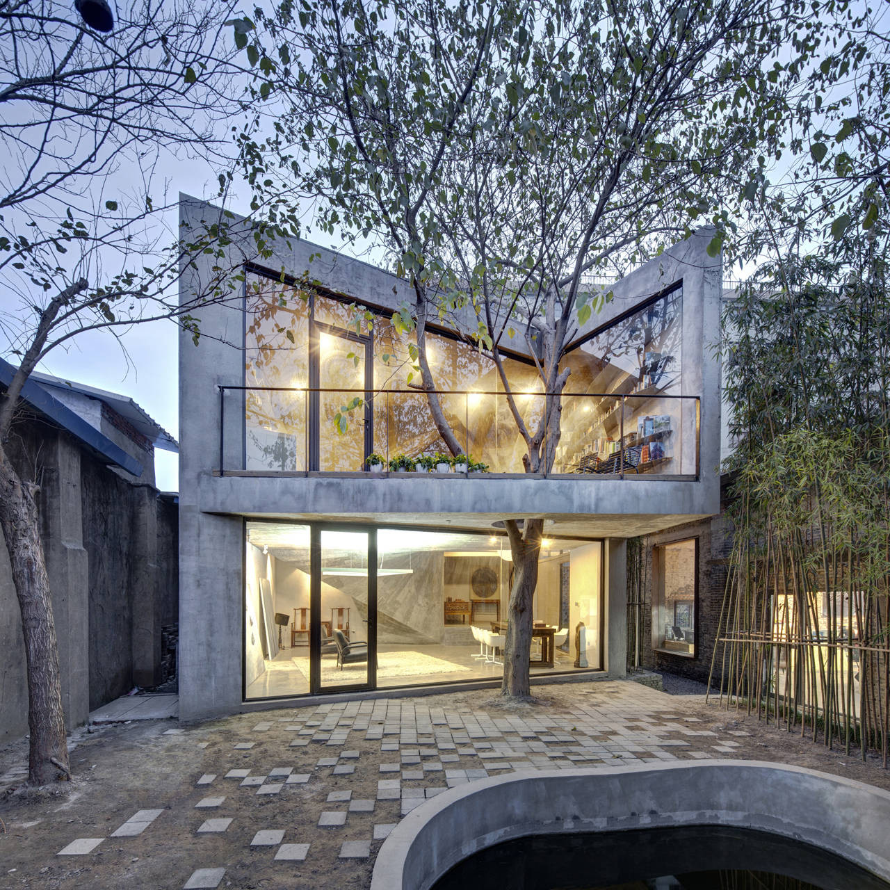 Tea House / Archi-Union Architects, © Zhonghai Shen