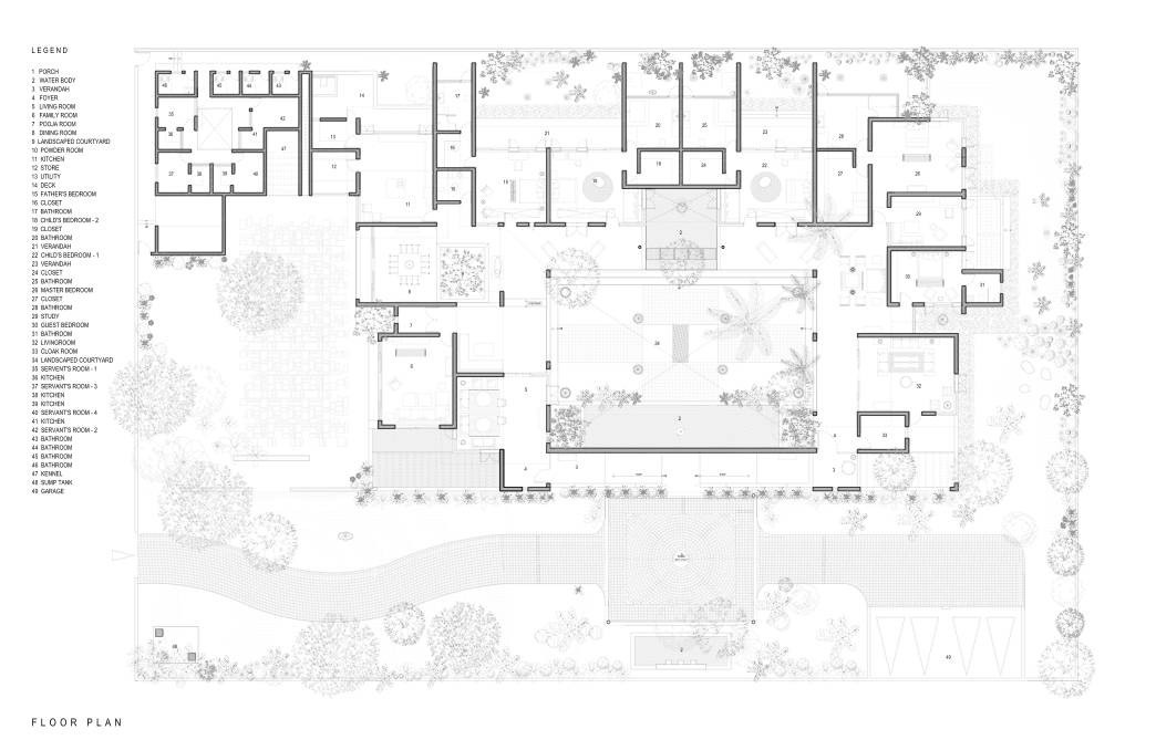 Gallery of Bellad House / Khosla Associates - 10