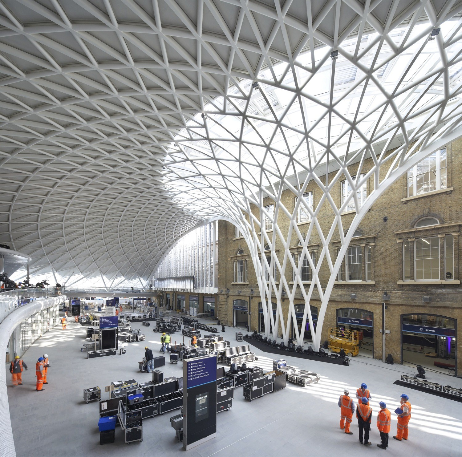 King's Cross Station / John McAslan + Partners, © Hufton and Crow