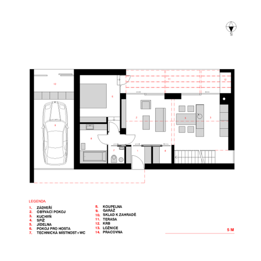 Floor Plan Of A Bachelor Flat Hunter Street Apartments
