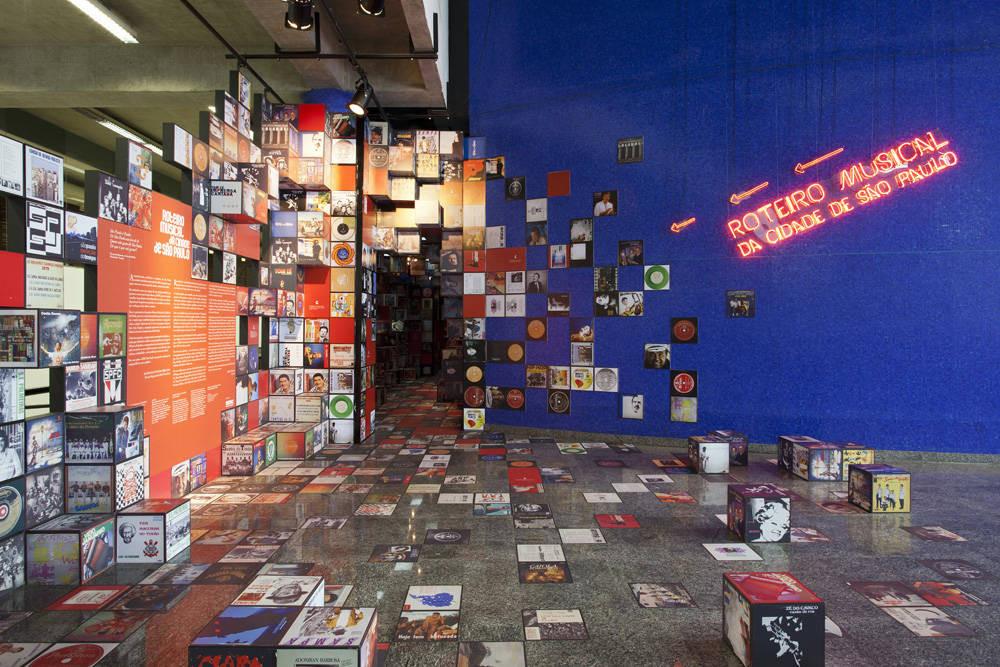 Roteiro Musical de Sao Paulo / Estudio Guto Requena  +  Atelier Marko Brajovic, © Fran Parente