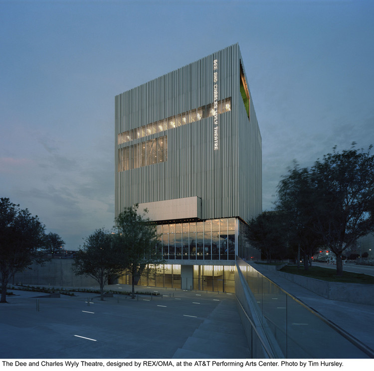 Dee and charles wyly theatre rex oma archdaily - Office for metropolitan architecture oma ...