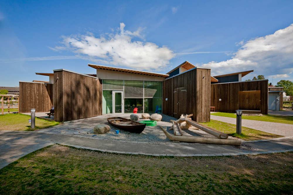 Solrosen Kindergarten / Stein Halvorsen Arkitekter, © Jonas Aarre Sommarset