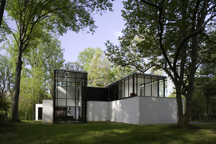 Black white residence david jameson architect archdaily - The edgemoor residence by david jameson architect ...