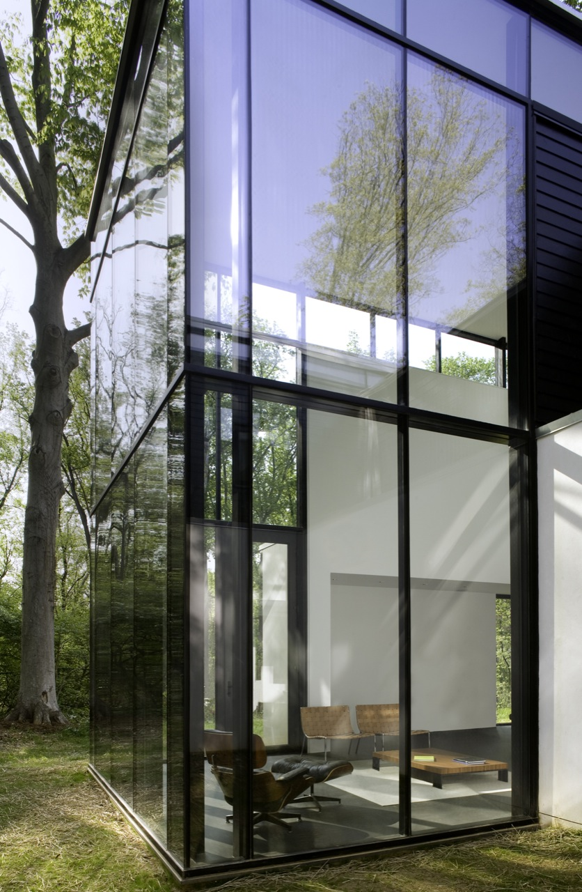 Gallery of black white residence david jameson architect - The edgemoor residence by david jameson architect ...
