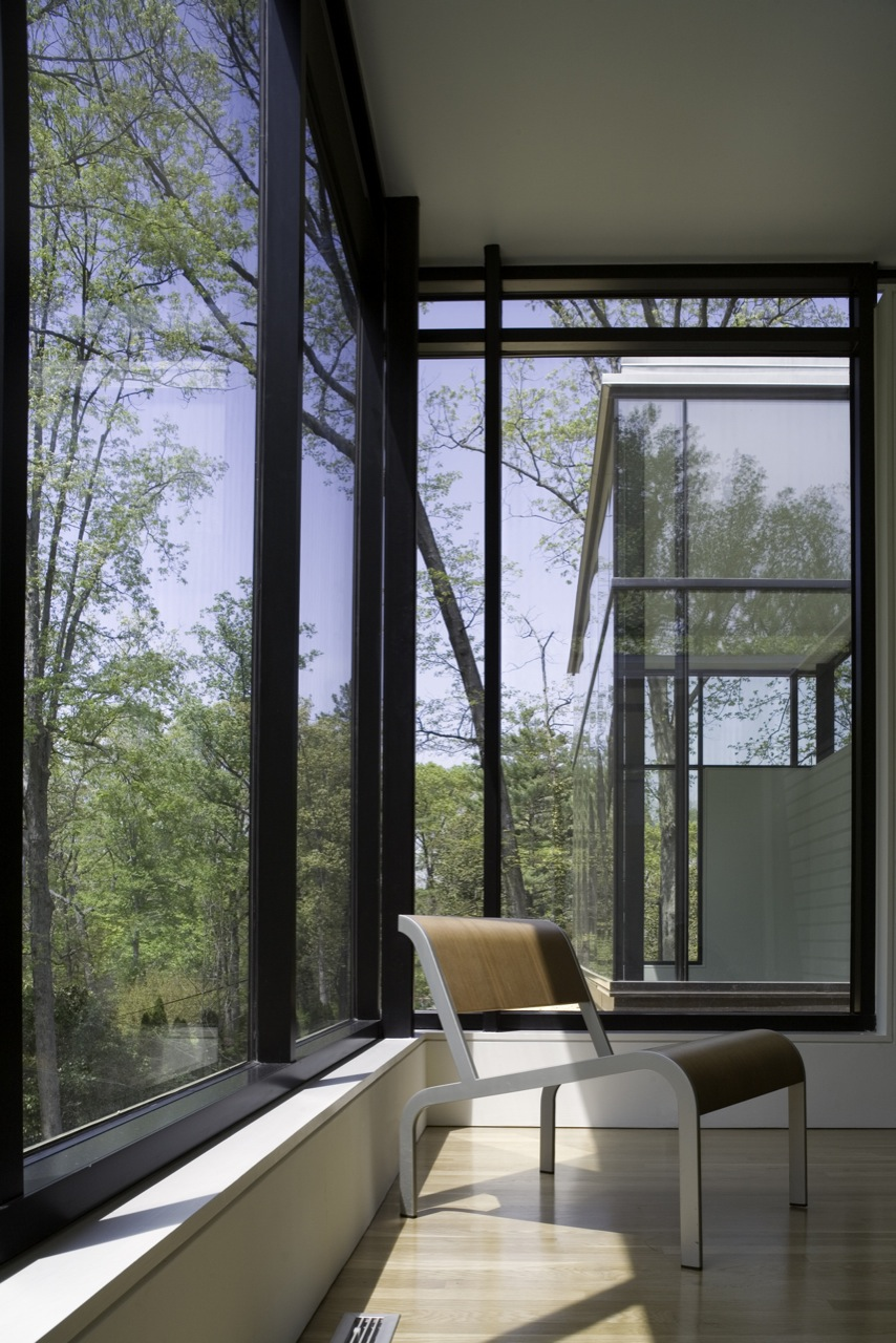 Gallery of black white residence david jameson architect 3 - The edgemoor residence by david jameson architect ...