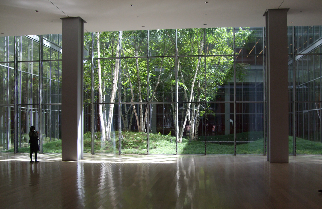 Gallery of the new york times building lobby garden hm white site architects cornelia - Hello this is my new picture garden interior ...