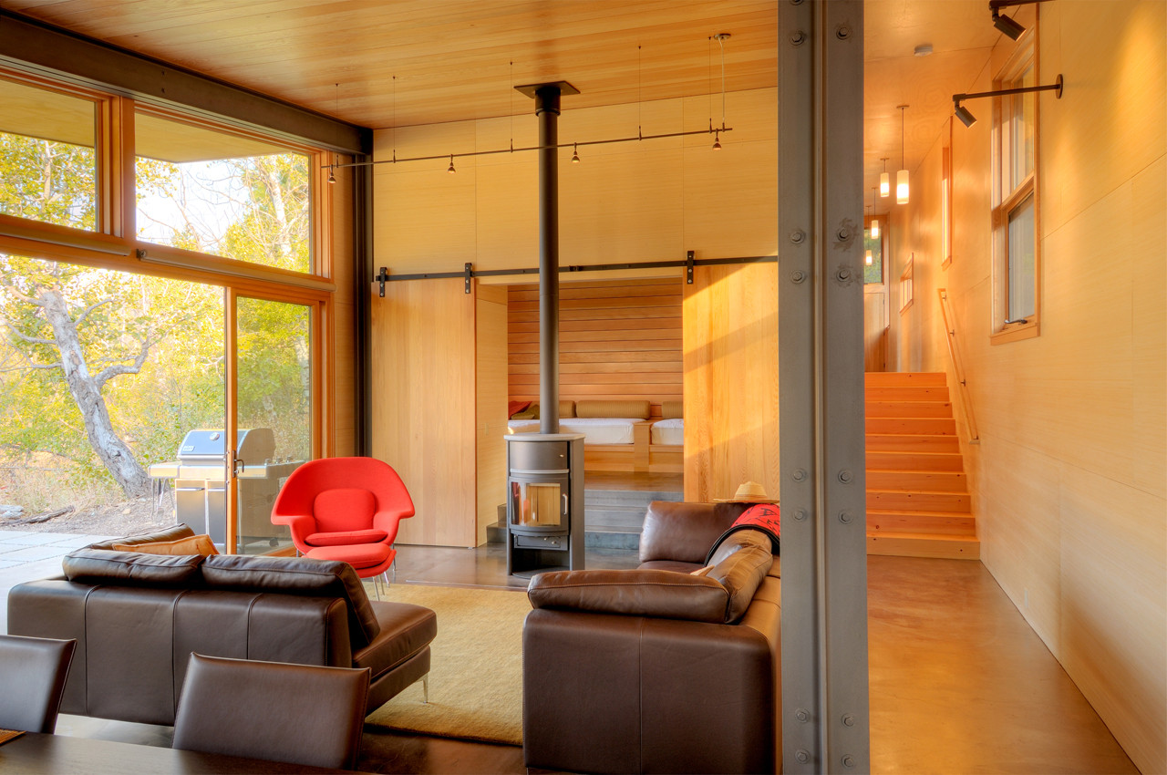 gallery of miner 39 s refuge johnston architects 12. Black Bedroom Furniture Sets. Home Design Ideas