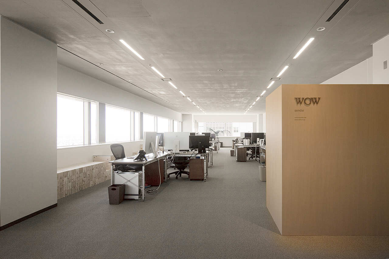 WOW Sendai / Upsetters Architects, © Yusuke Wakabayashi