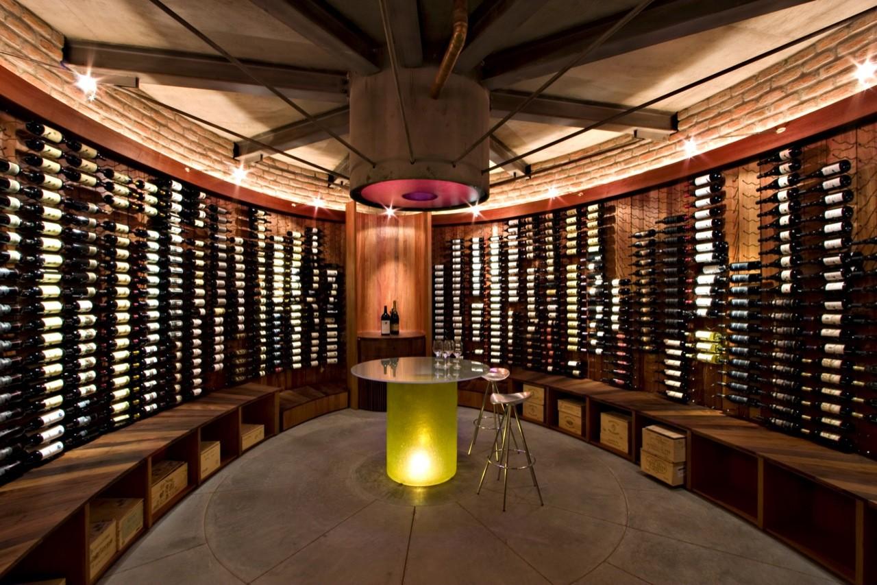 Thurston Wine House Addition,© Ed Taube Nice Design