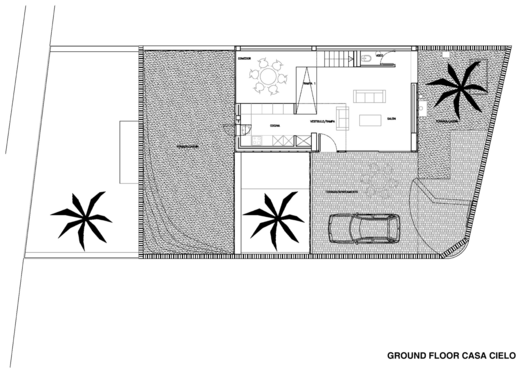 cielo house ground floor plan