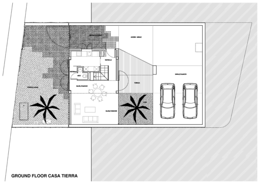 tierra house ground floor plan