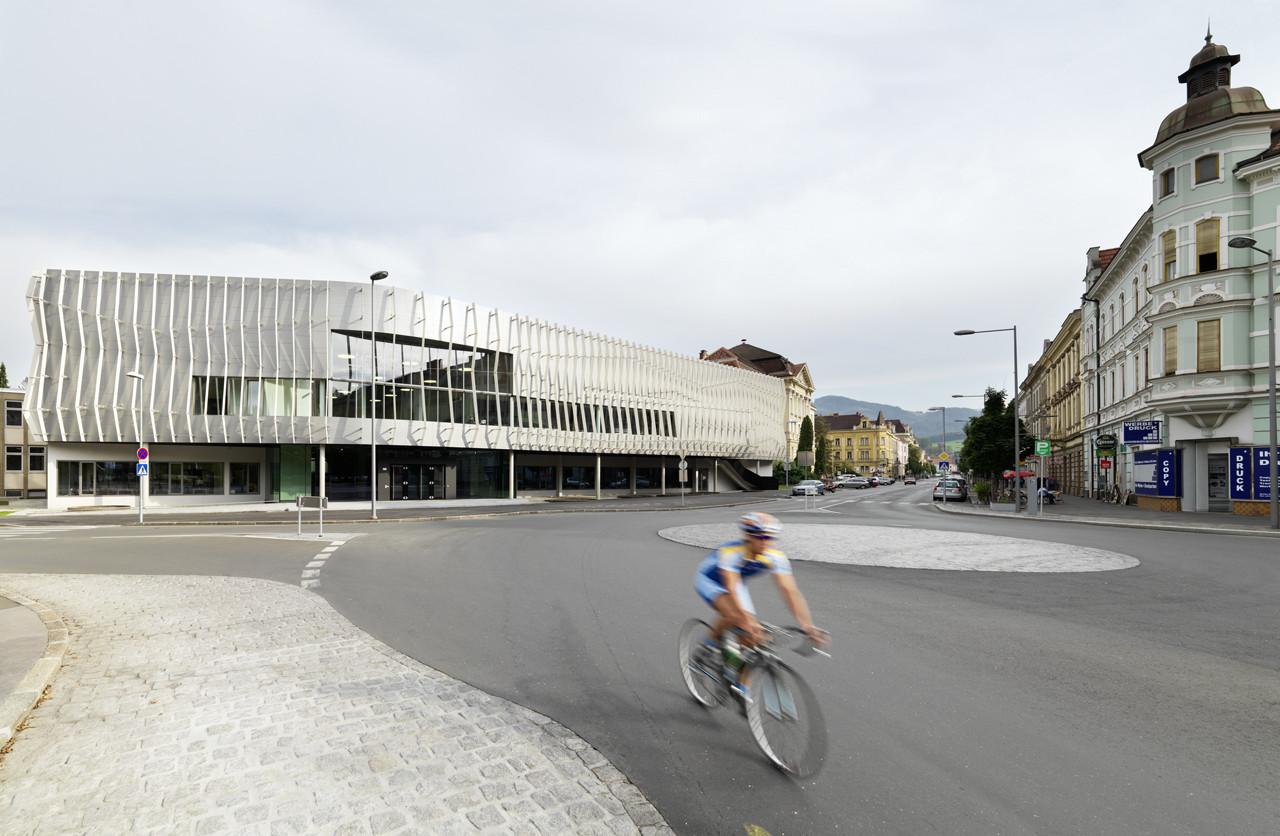 Montan University Leoben / Gangoly & Kristiner Architekten, © Paul Ott