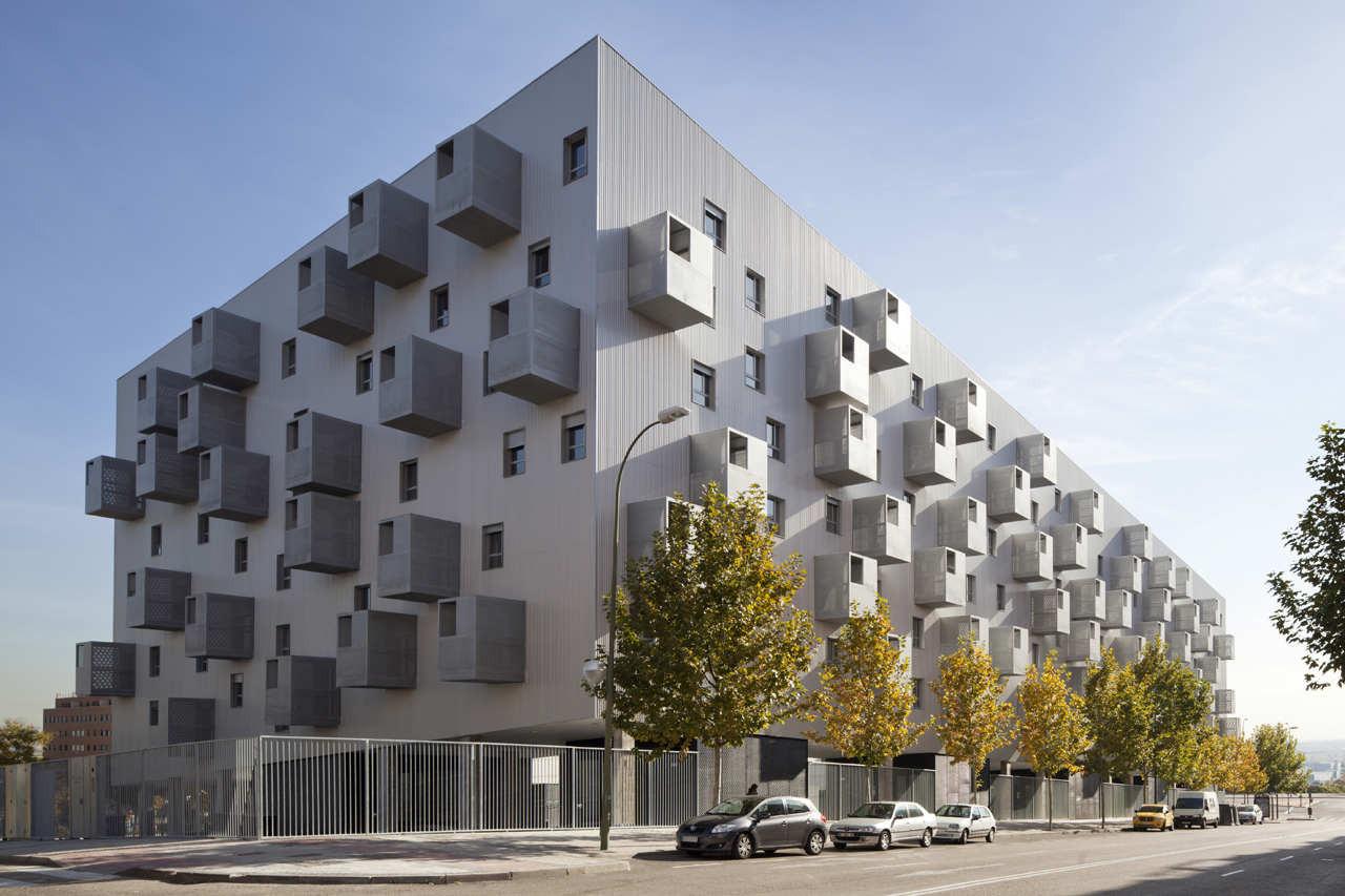 Gallery of social housing in carabanchel coco - Arquitectos madrid 2 0 ...