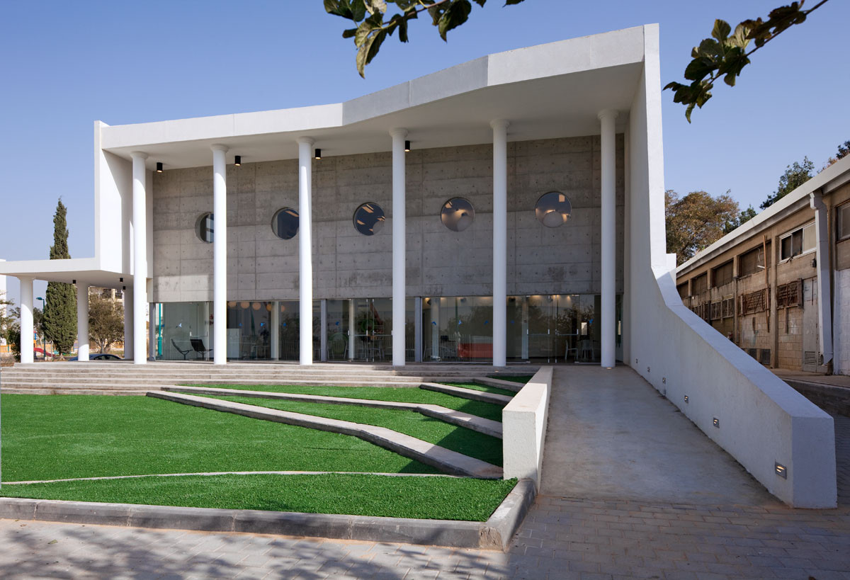 Educational Language Facility In Ramla / Ron Fleisher, © Shai Epstein