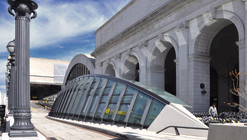 Union Station Bicycle Transit Center / KGP design