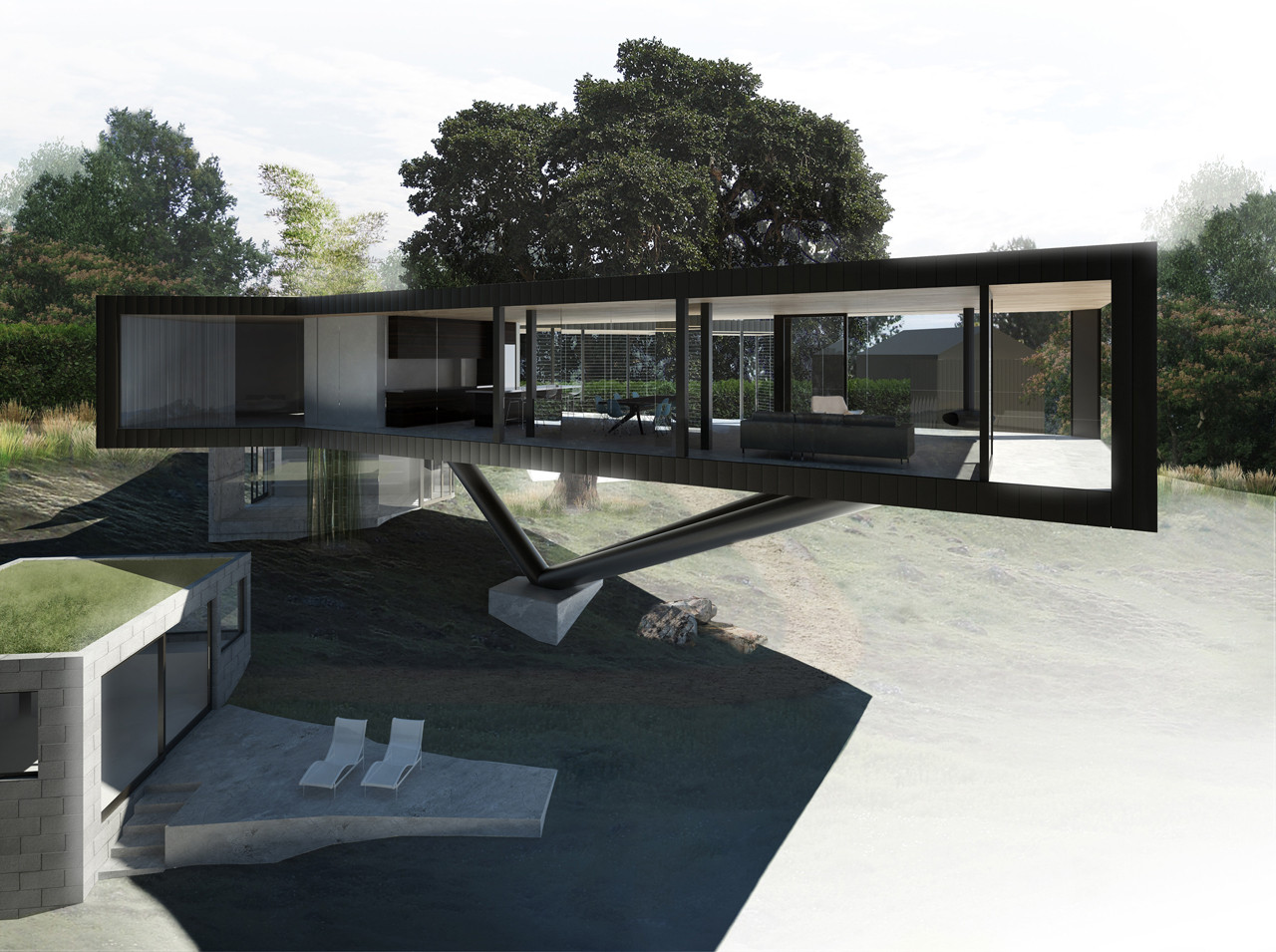 Gallery Of Napa River House Craig Steely Architecture 4