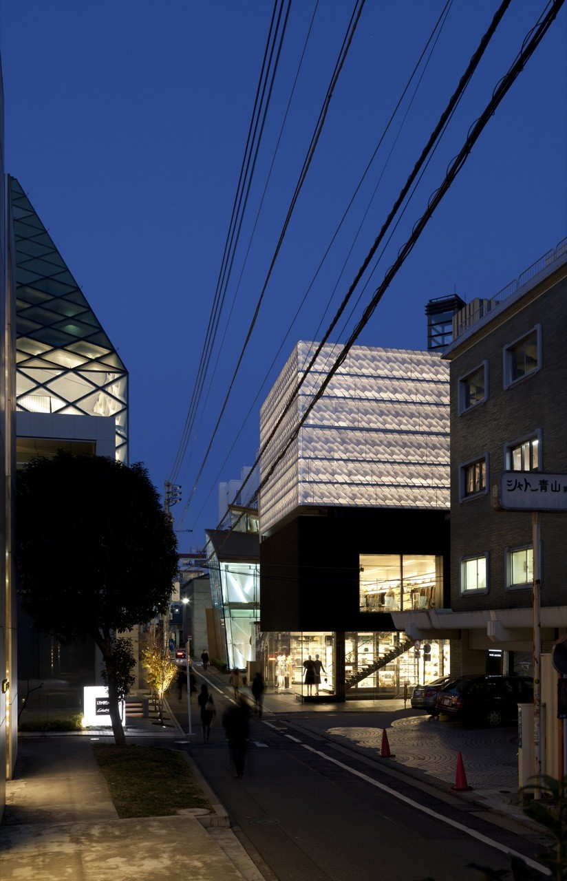 Marc Jacobs Tokyo Flagship Building / Jaklitsch/Gardner Architects, © Liao Yusheng